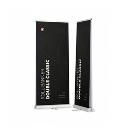 DUBBELZIJDIGE ROLL UP BANNER CLASSIC