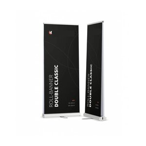Roll UP banner DUBBELZIJDIGE ROLL UP BANNER CLASSIC