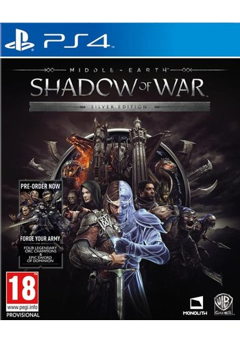 Middle-Earth: Shadow of war Silver Edition  - PlayStation 4