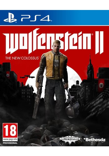 Wolfenstein 2 (II): The New Colossus - Playstation 4