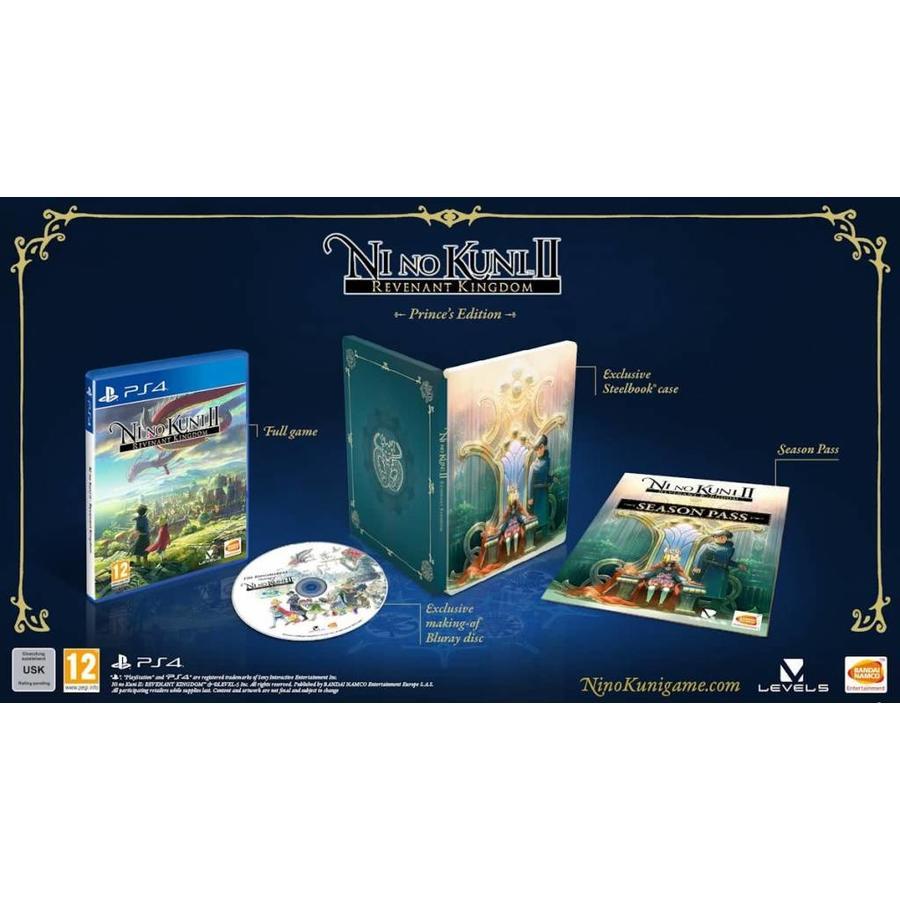 Ni No Kuni II: Revenant Kingdom - Prince's Edition - Playstation 4