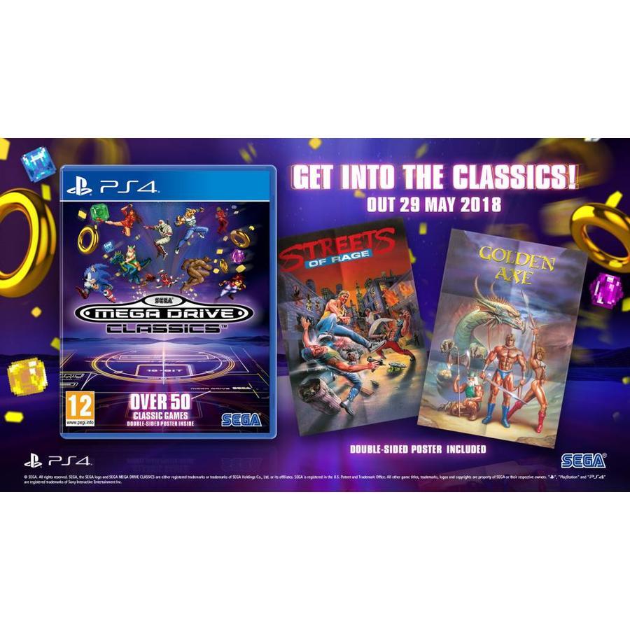 SEGA Megadrive Classics Collection - Playstation 4