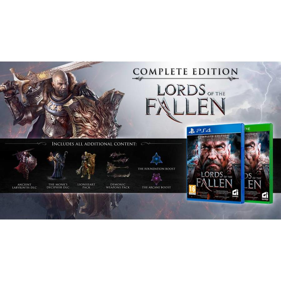 Lords of the Fallen - Complete Edition - Playstation 4