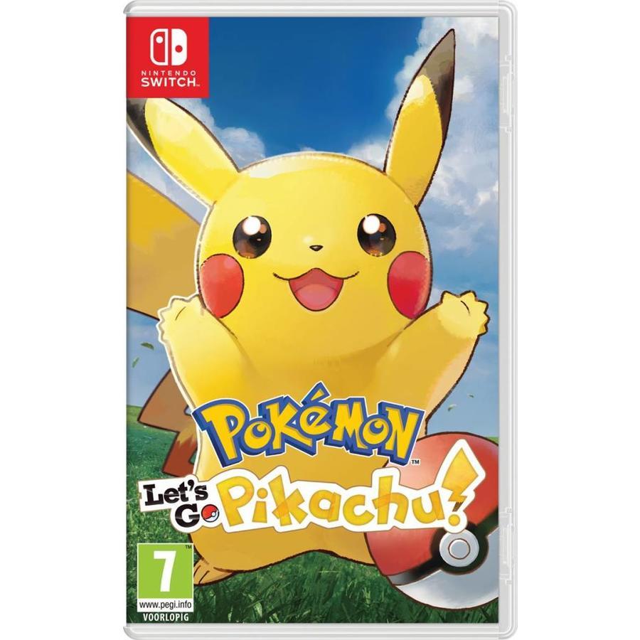 Pokemon: Let's Go, Pikachu! - Nintendo Switch