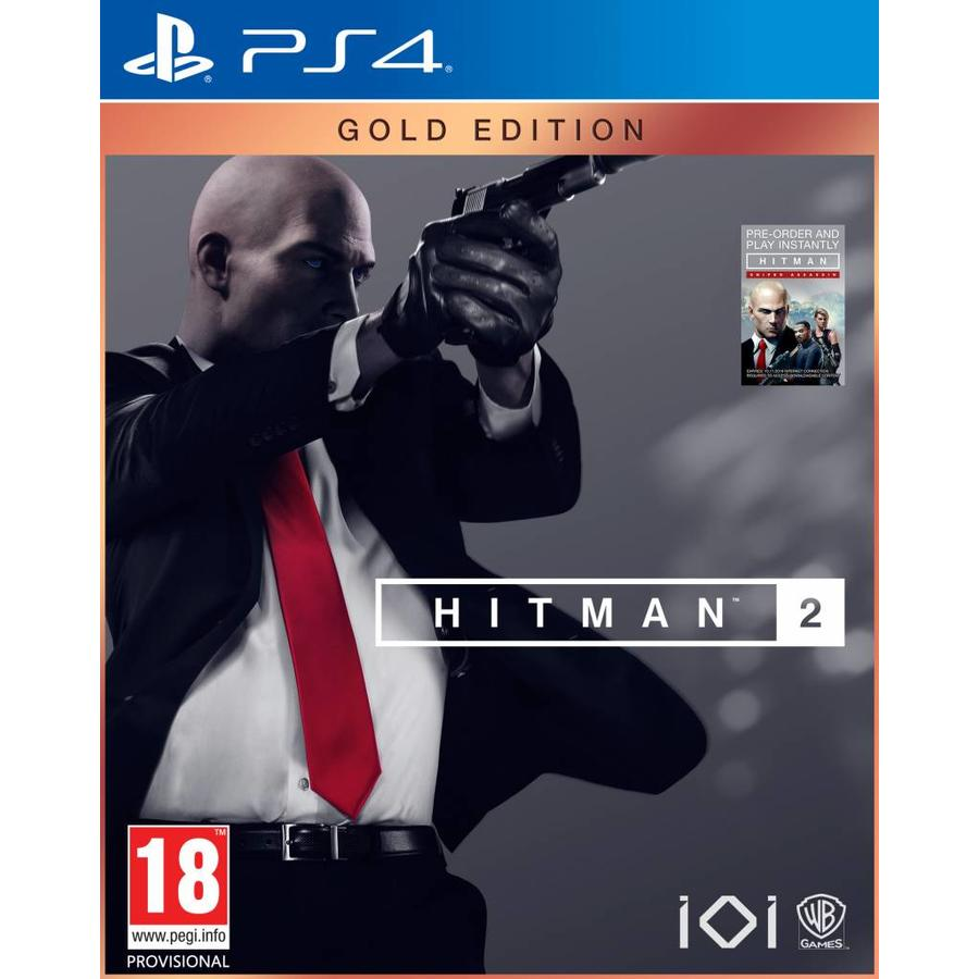 HITMAN 2 Gold Edition + Sniper Assassin DLC - Playstation 4