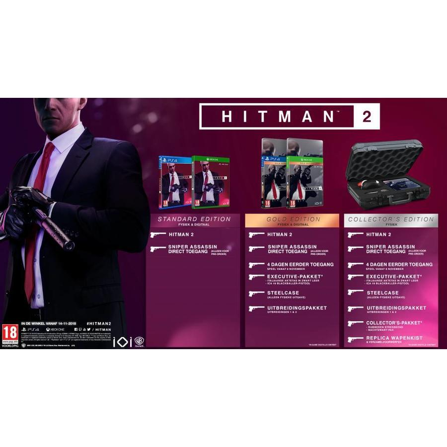 HITMAN 2 Gold Edition - Playstation 4