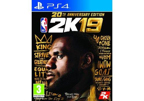 NBA 2K19 - Anniversary Edition - Playstation 4