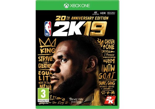 NBA 2K19 - Anniversary Edition - Xbox One