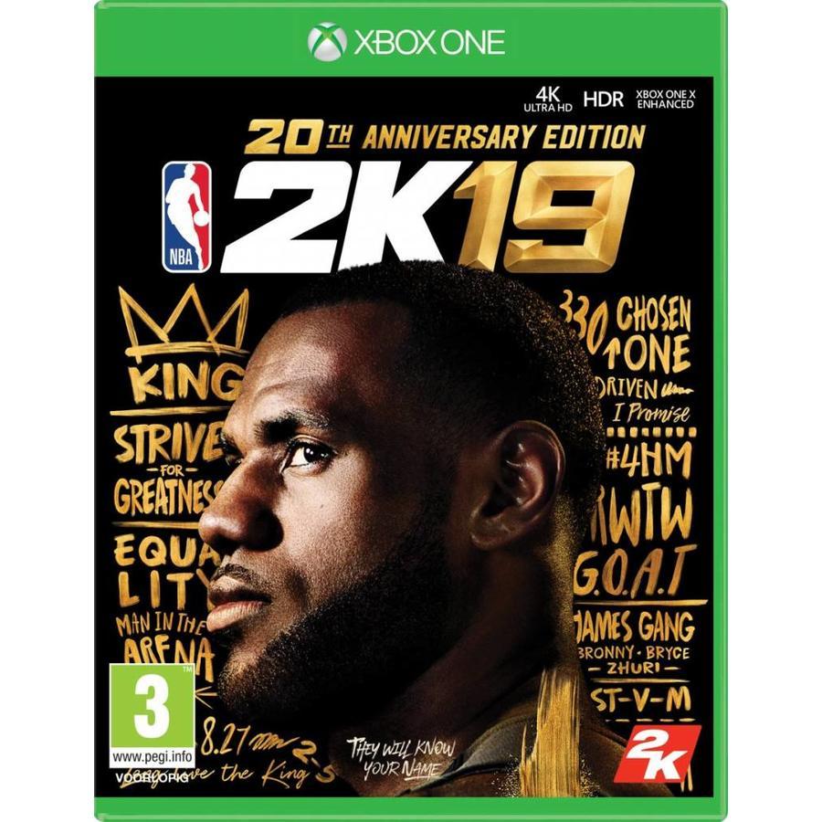 NBA 2K19 - Anniversary Edition - Xbox One
