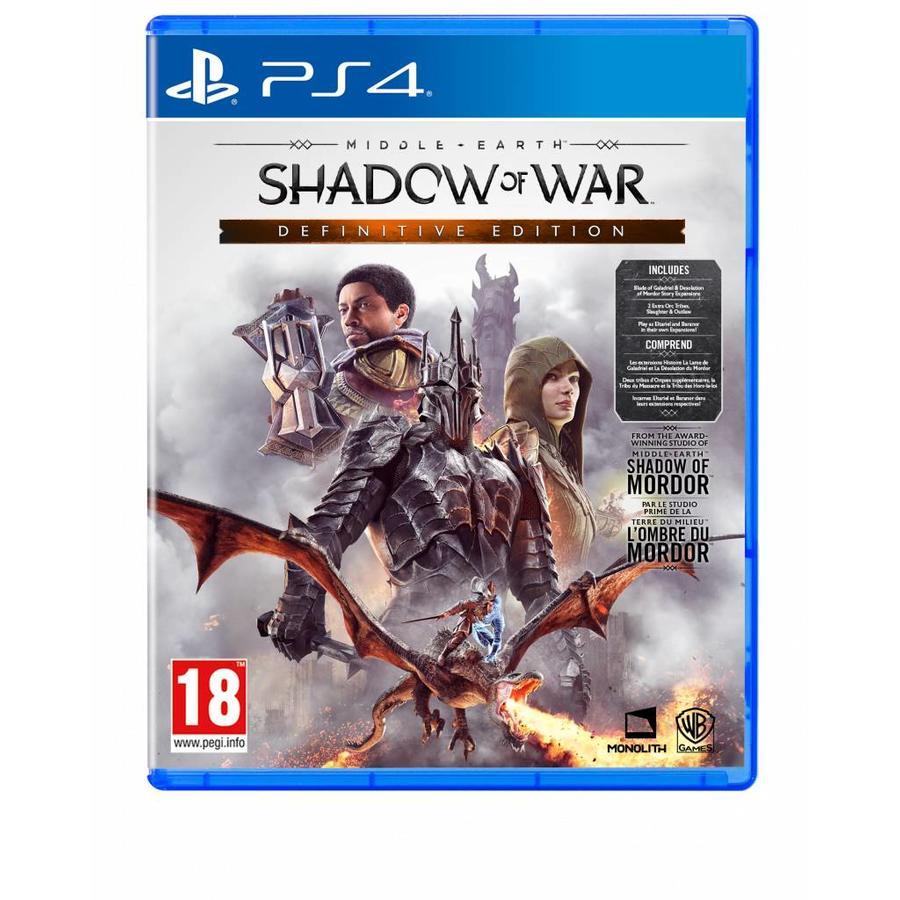 Shadow of War Definitive Edition - Playstation 4