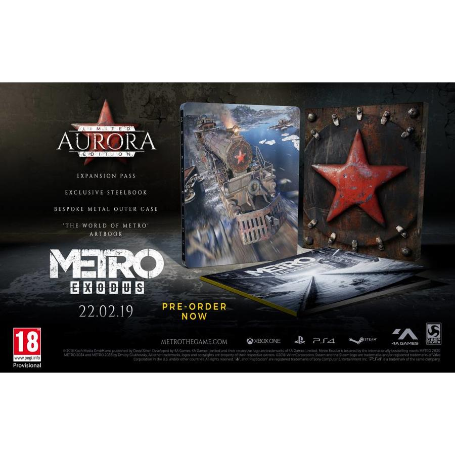 Metro Exodus Aurora Limited Edition - Playstation 4