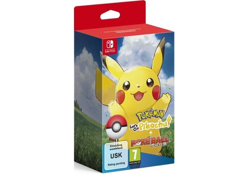 Pokemon: Let's Go Pikachu! + Poke Ball Plus - Nintendo Switch