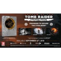 Shadow of the Tomb Raider + Steelbook - Playstation 4