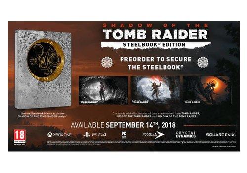 Shadow of the Tomb Raider + Steelbook - Playstation 4