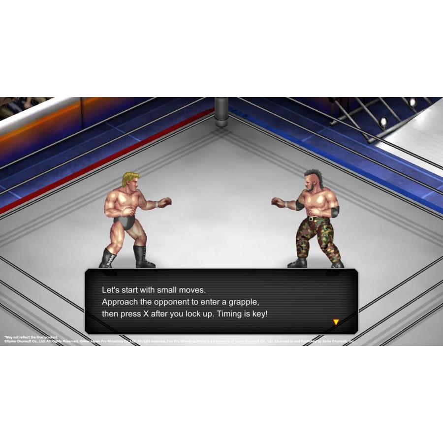 Fire Pro Wrestling World - Playstation 4