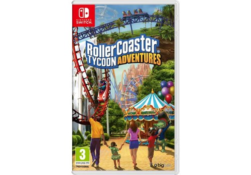 RollerCoaster Tycoon Adventures - Nintendo Switch