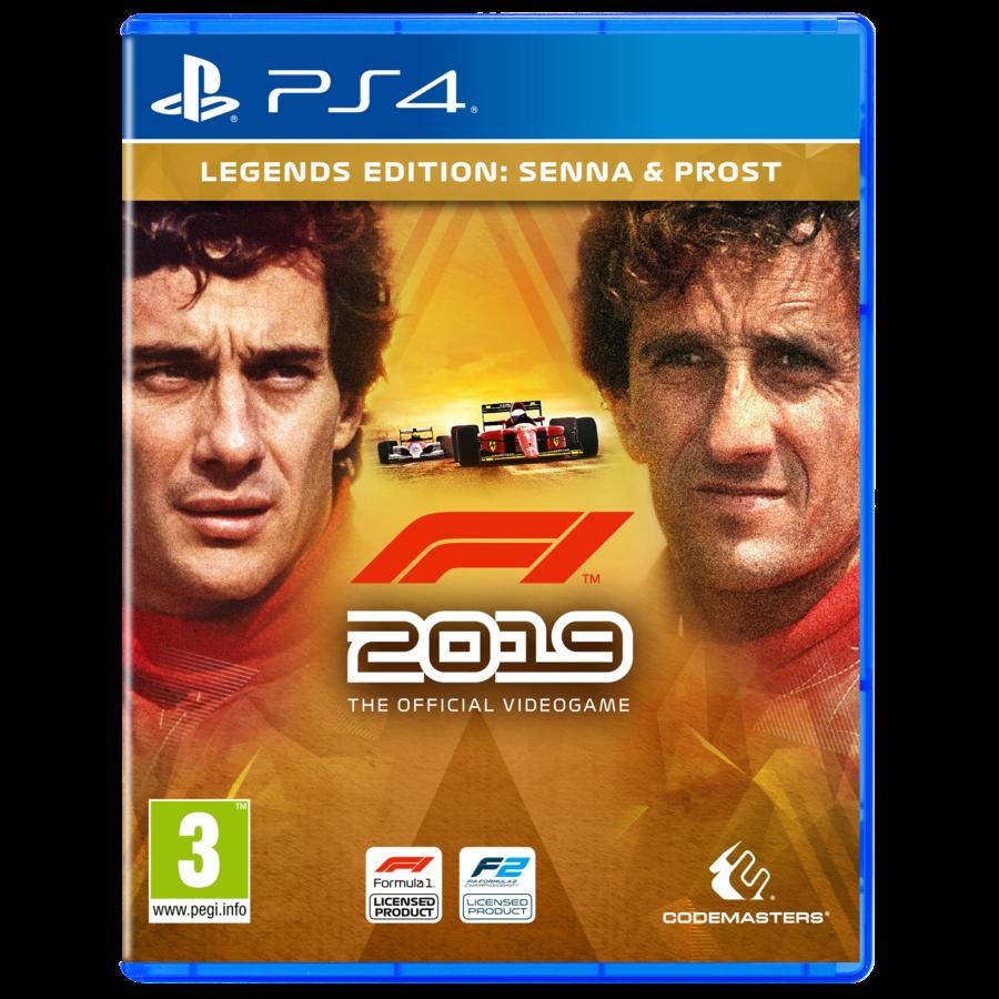 F1 2019 Legends Edition - Playstation 4