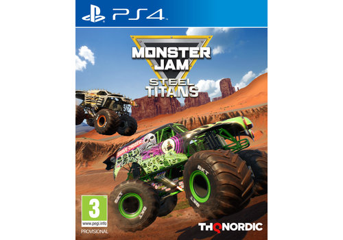 Monster Jam - Steel Titans - Playstation 4