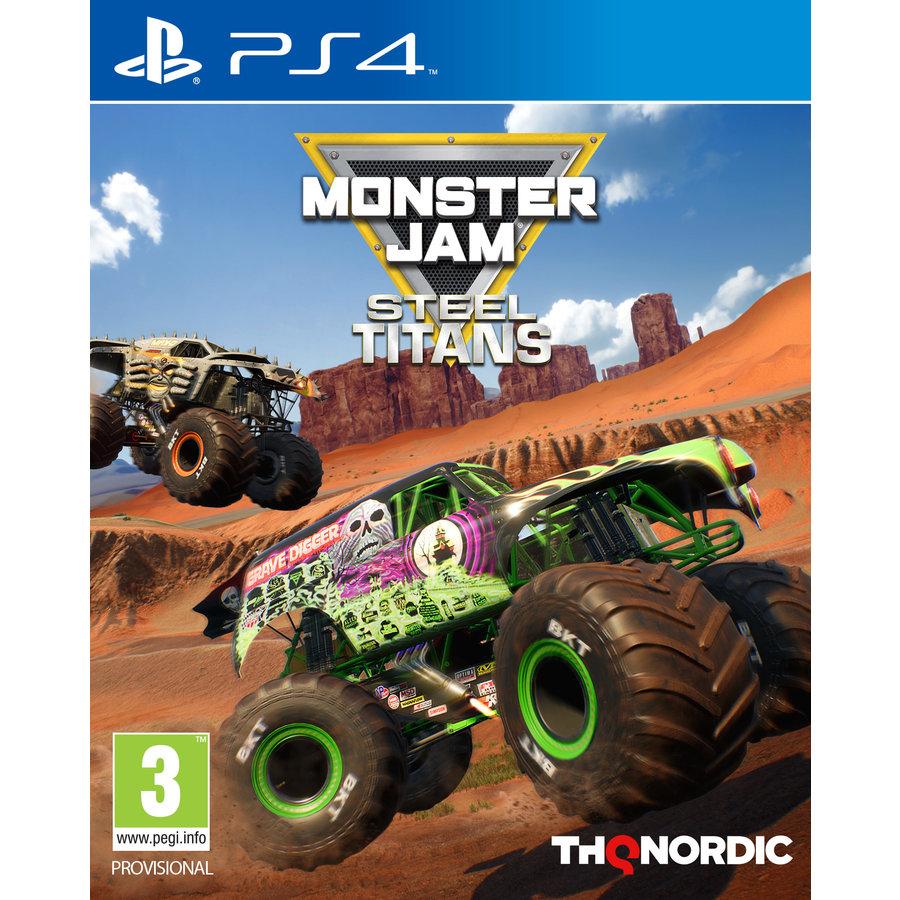 Monster Jam - Steel Titans - Playstation 4