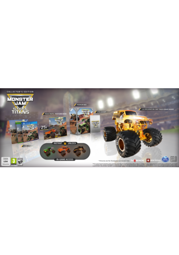 Monster Jam - Steel Titans Collector Edition - Playstation 4