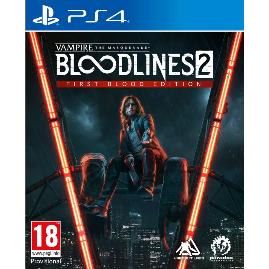 Vampire:The Masquerade Bloodlines 2 First Blood Edition - Playstation 4