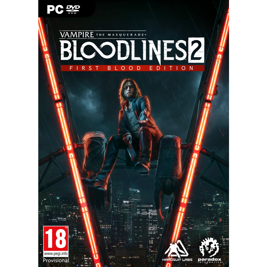 Vampire:The Masquerade Bloodlines 2 First Blood Edition - PC