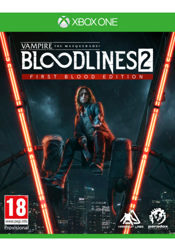 Vampire:The Masquerade Bloodlines 2 First Blood Edition - Xbox One