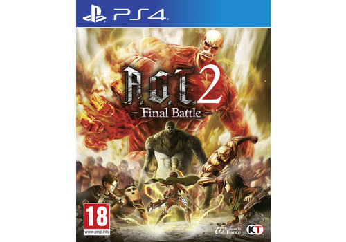 Attack on Titan 2 - Final Battle - Playstation 4