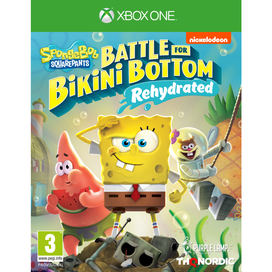Spongebob SquarePants: Battle for Bikini Bottom - Rehydrated - Xbox One