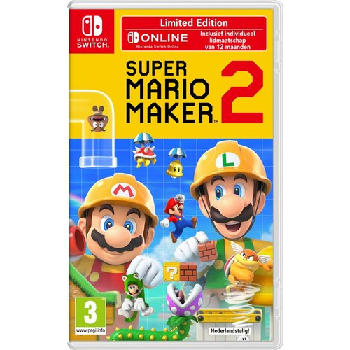 Super Mario Maker 2 - Limited Edition - Nintendo Switch