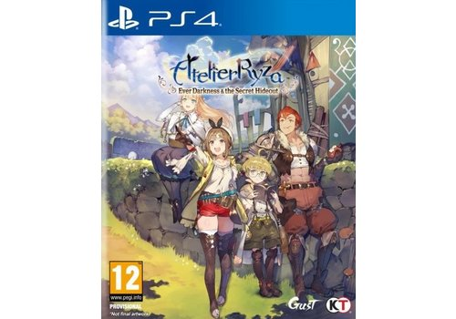 Atelier Ryza - Ever Darkness & the Secret Hideout - Playstation 4