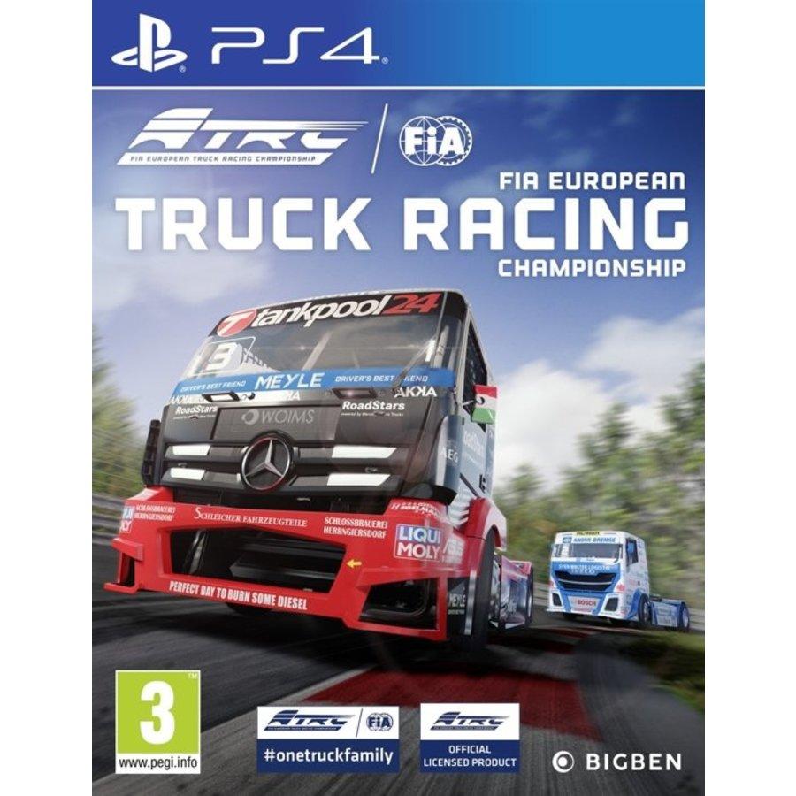 FIA European Truck Racing - Playstation 4