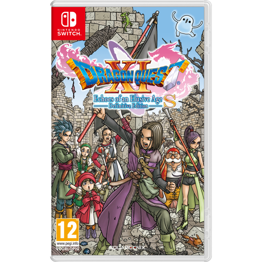 Dragon Quest XI S - Echoes of an Elusive Age - Definitive Edition - Nintendo Switch