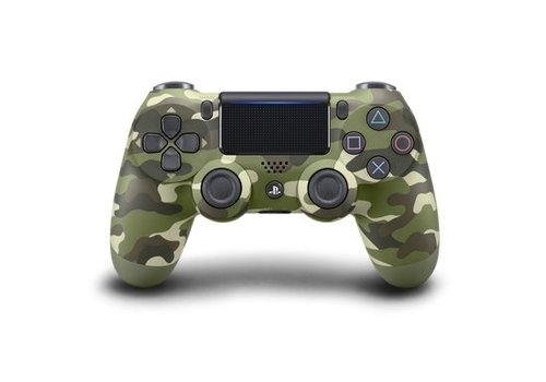Sony Wireless Dualshock PlayStation 4 Controller V2 (green camouflage)