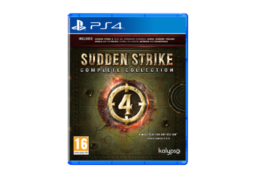 Sudden Strike 4 Complete Collection - Playstation 4