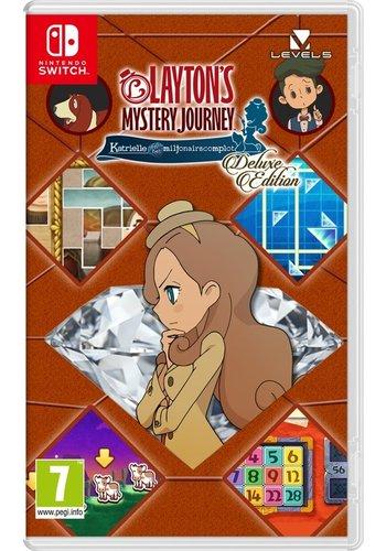 Layton's Mystery Journey: Katrielle en het Miljonairscomplot - Deluxe Edition - Nintendo Switch
