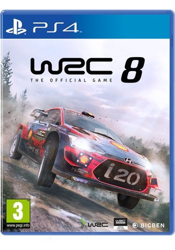 WRC 8 FIA World Rally Championship - Playstation 4
