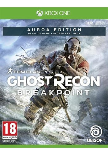Tom Clancy's Ghost Recon: Breakpoint - Auroa Edition - Xbox One