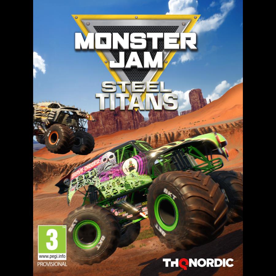 Monster Jam Steel Titans - Nintendo Switch
