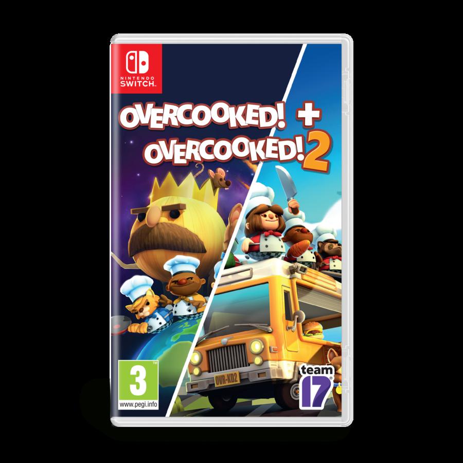 Overcooked Double Pack - Overcooked 1 & Overcooked 2 - Nintendo Switch