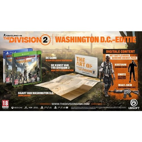 The Division 2 - Washington D.C. Edition - Playstation 4