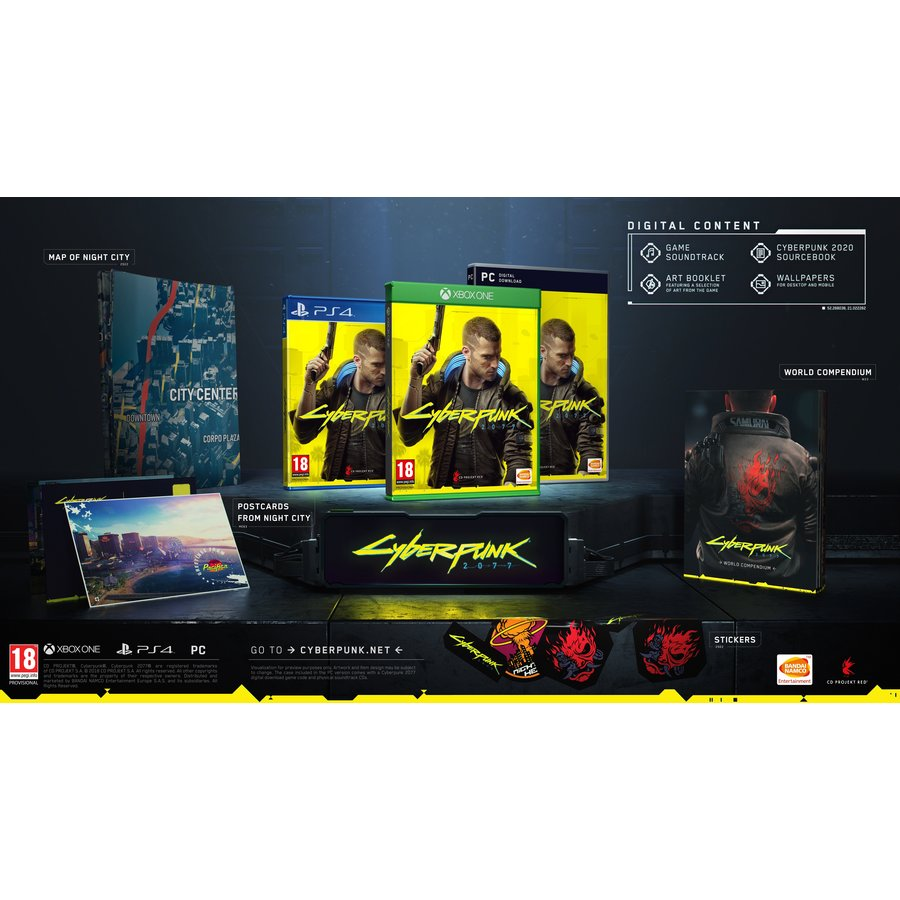 Cyberpunk 2077 Day One Edition - Xbox One