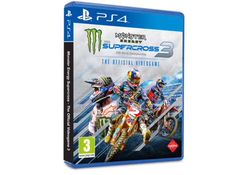 Monster Energy Supercross - The Offcial Videogame 3 + Pre order DLC - Playstation 4