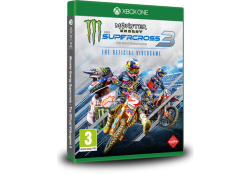 Monster Energy Supercross - The Offcial Videogame 3 + Pre order DLC - Xbox One