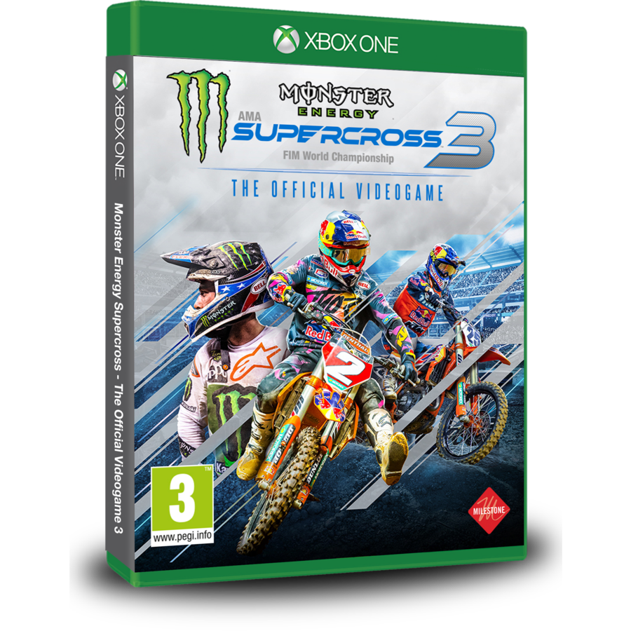 Monster Energy Supercross - The Offcial Videogame 3 - Xbox One