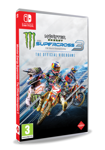 Monster Energy Supercross - The Offcial Videogame 3 - Nintendo Switch