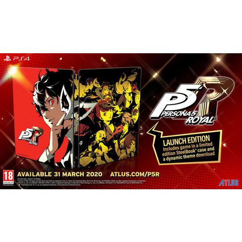 Persona 5 Royal - Steelbook Edition - Playstation 4