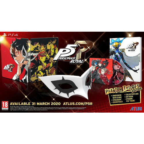 Persona 5 Royal - Premium Phantom Thieves Edition - Playstation 4