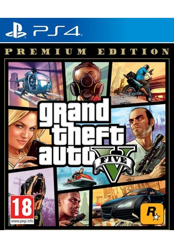 Grand Theft Auto V: Premium Edition - Playstation 4