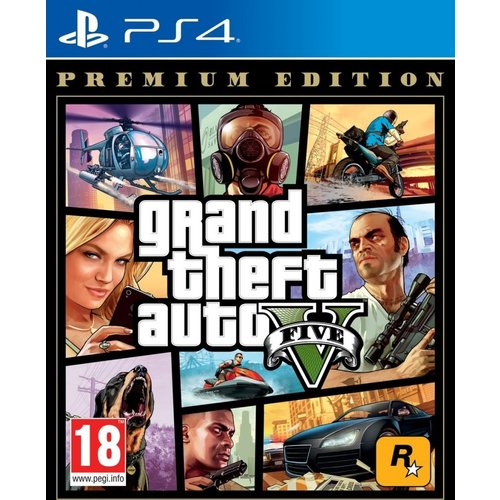 Grand Theft Auto V (GTA 5) - Playstation 4
